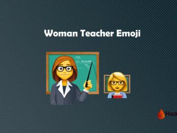 Woman Teacher emoji