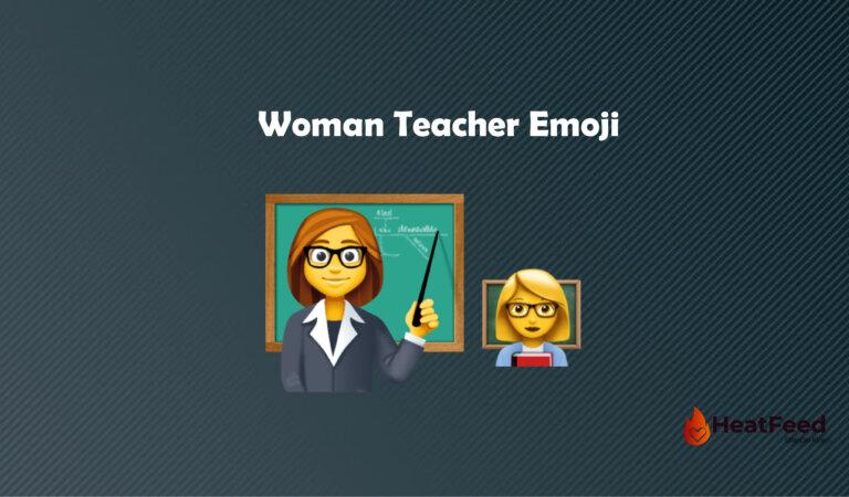 👩🏫 Woman Teacher Emoji