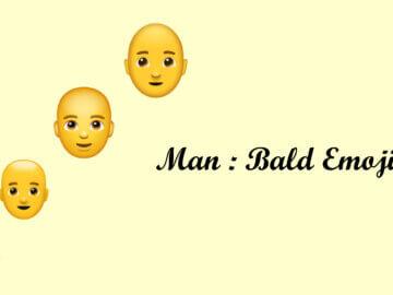Man: Bald