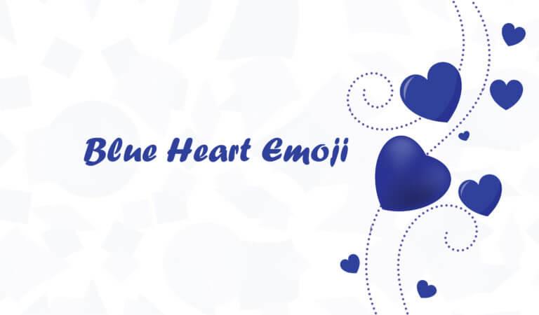 💙 Blue Heart Emoji