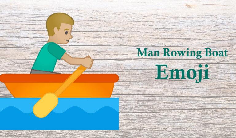 🚣♂️ Man Rowing Boat Emoji