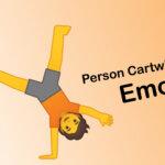person cartwheeling emoji