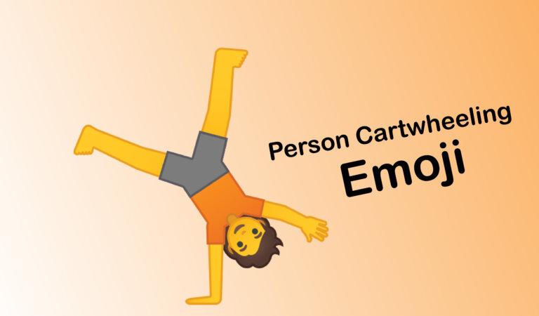 🤸 Person Cartwheeling Emoji