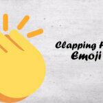 clapping hand emoji
