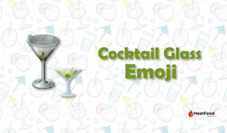 🍸Cocktail Glass Emoji