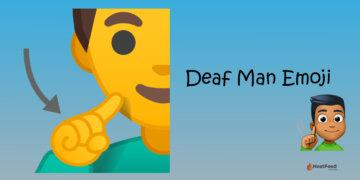 Deaf Man Emoji