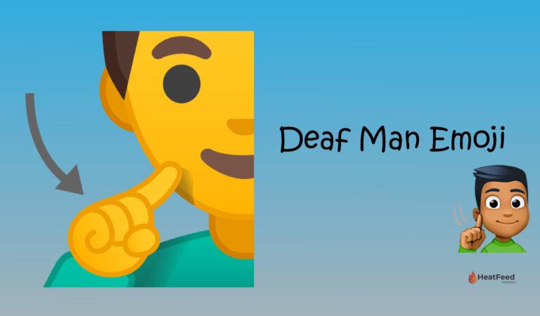 🧏♂️ Deaf Man Emoji