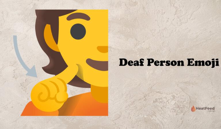 🧏 Deaf Person Emoji