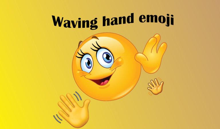 Waving Hand Emoji 👋