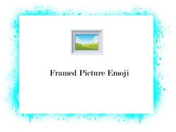 Framed Picture Emoji