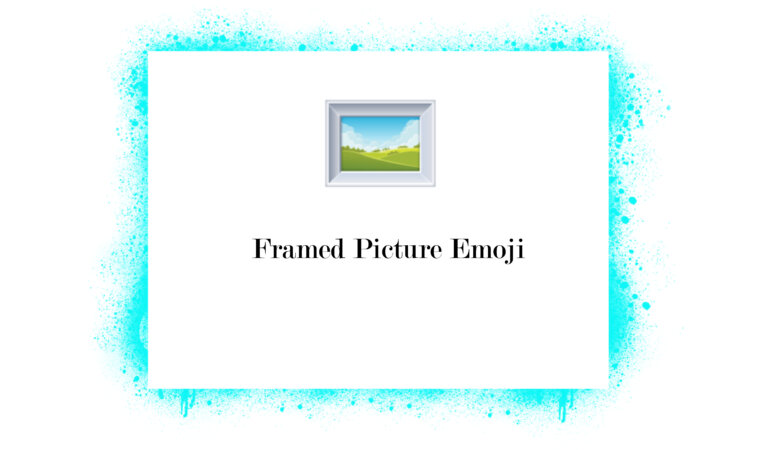 🖼️ Framed Picture Emoji