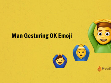 Man Gesturing OK Emoji