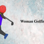 woman golfing emoji