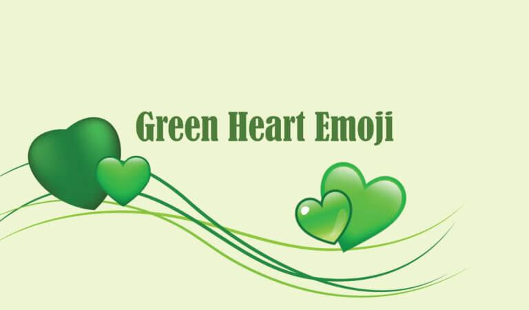 💚 Green Heart Emoji