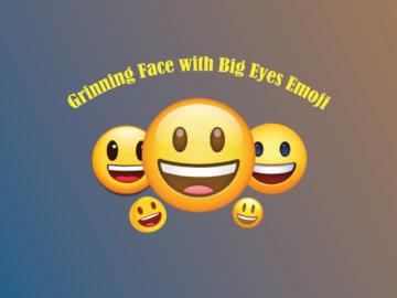 Grinning Face with Big Eyes Emoji