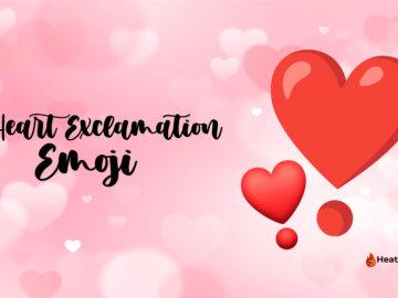 heart exclamation emoji