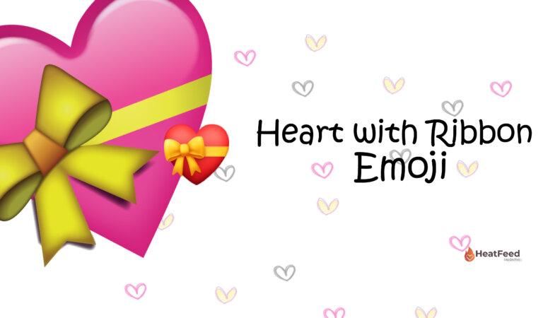 💝Heart With Ribbon Emoji