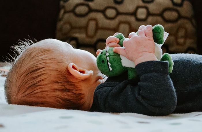 baby loves toy