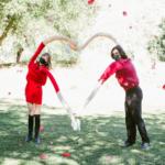 socially distanced valentine's shoot