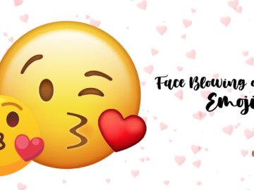 Face Blowing a Kiss Emoji