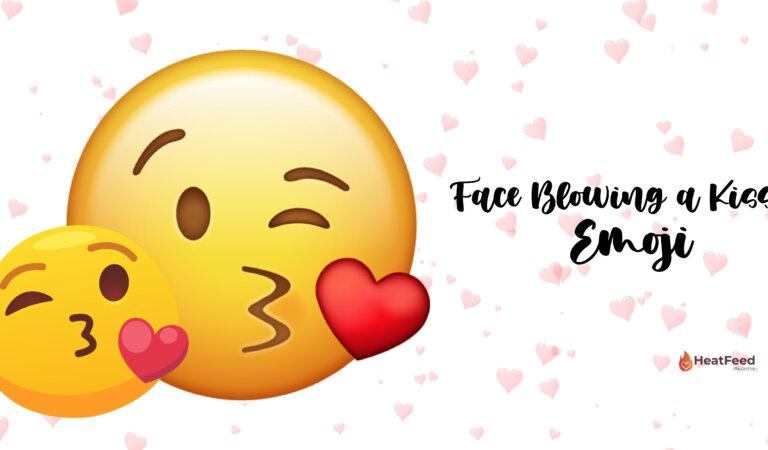 😘 Face Blowing a Kiss Emoji