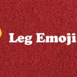 leg emoji