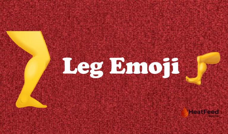 Leg Emoji🦵