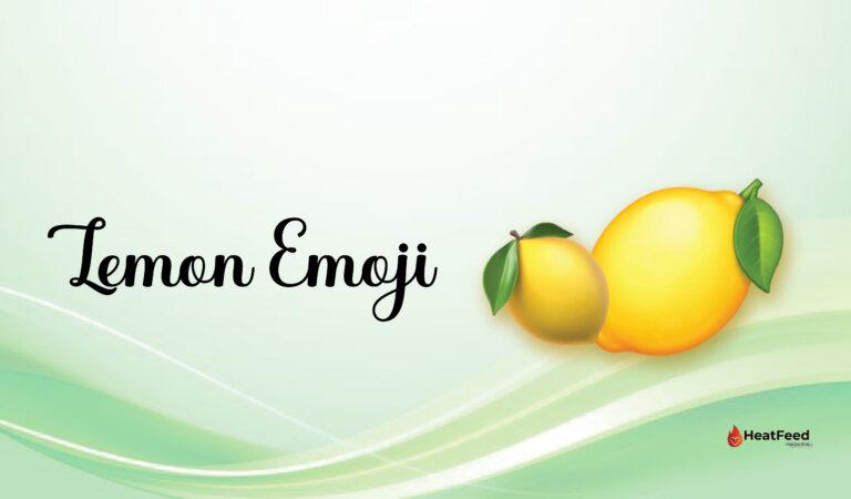 🍋Lemon Emoji