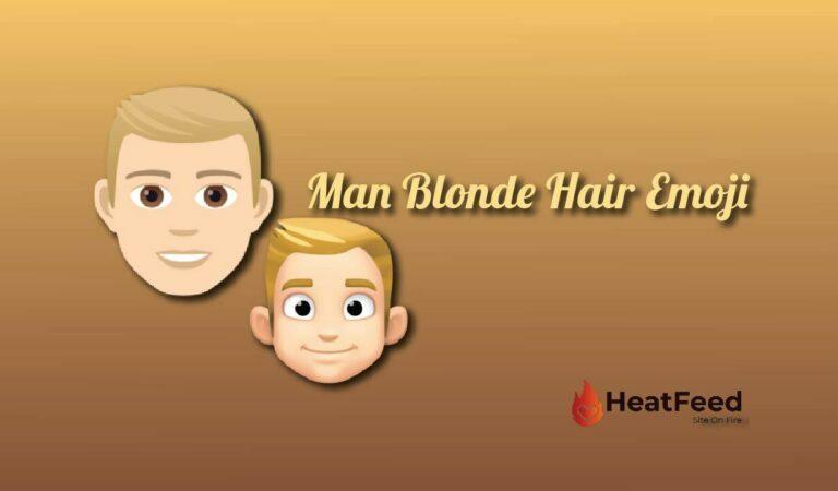 👱♂️ Man: Blonde Hair emoji