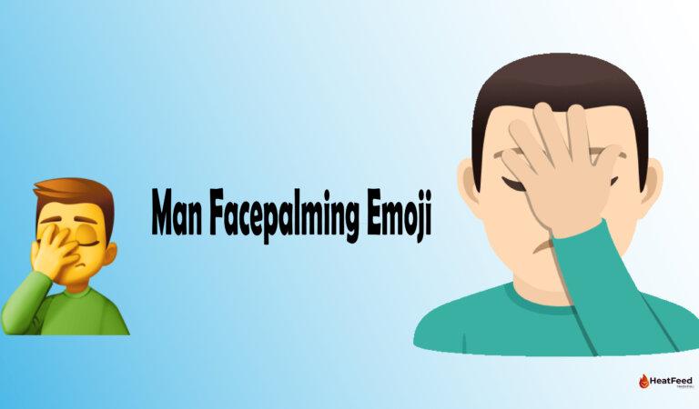 🤦♂️ Man Facepalming Emoji