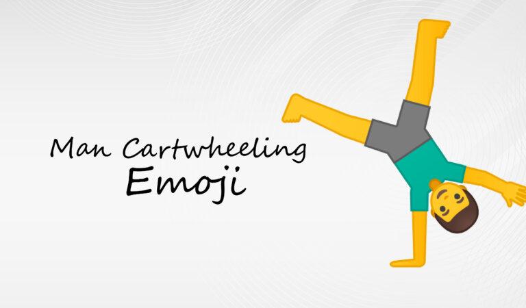 🤸♂️ Man Cartwheeling Emoji
