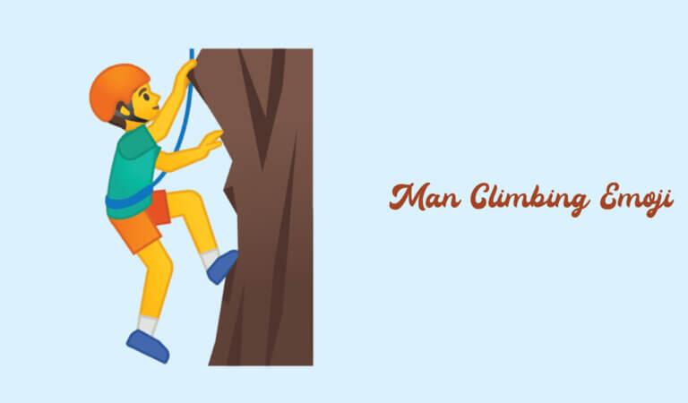 🧗♂️ Man Climbing Emoji