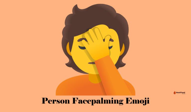🤦 Person Facepalming Emoji