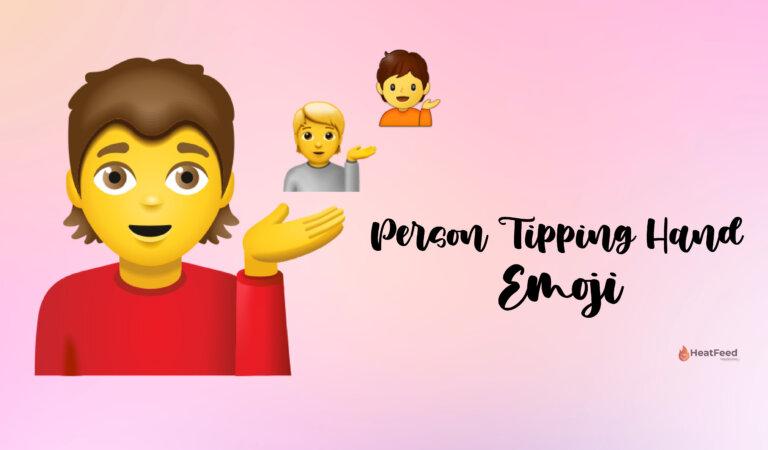 💁 Person Tipping Hand Emoji