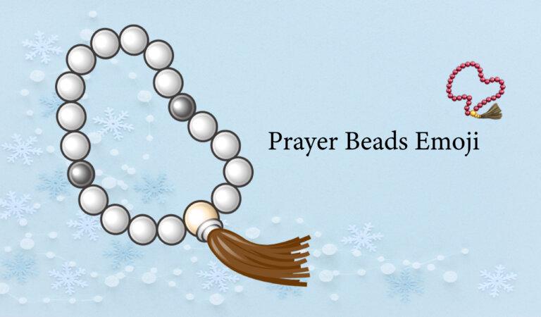 📿 Prayer Beads Emoji