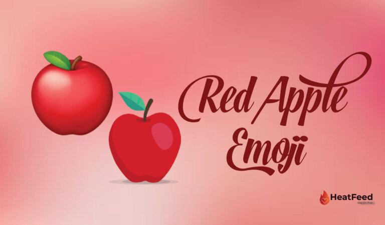🍎Red Apple Emoji
