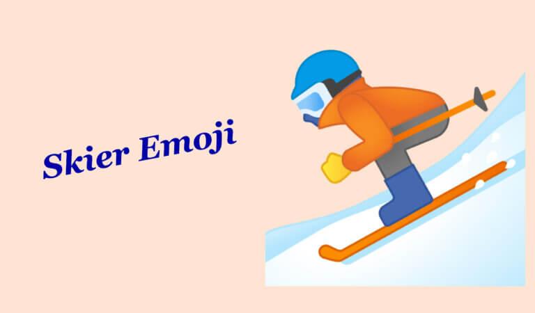 ⛷️ Skier Emoji