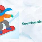snowboarder emoji
