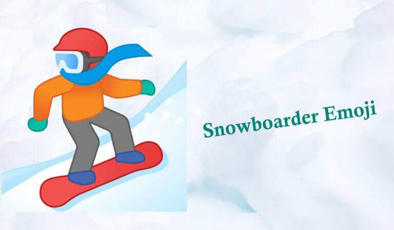 🏂 Snowboarder Emoji