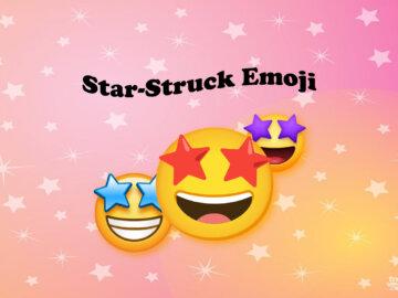 Star-Struck Emoji