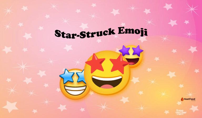🤩 Star-Struck Emoji