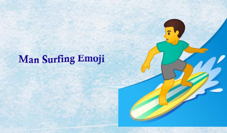 🏄♂️ Man Surfing Emoji