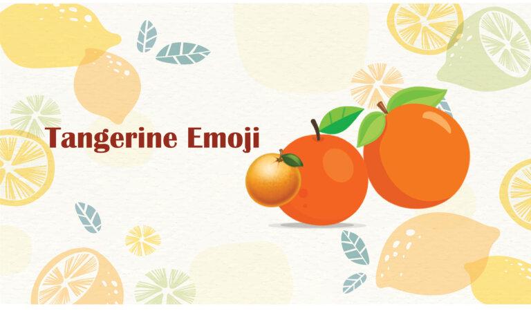 🍊Tangerine Emoji