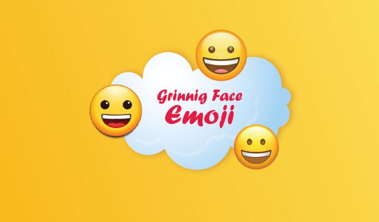 😀 Grinning Face Emoji