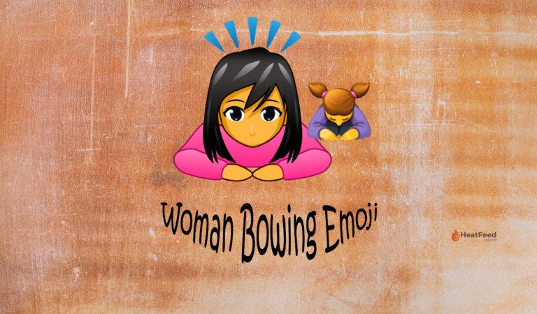 🙇♀️ Woman Bowing Emoji