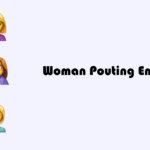 Woman Pouting emoji