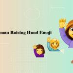 Woman Raising Hand Emoji