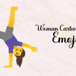 woman cartwheeling emoji