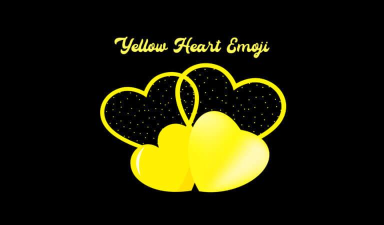 💛 Yellow Heart Emoji