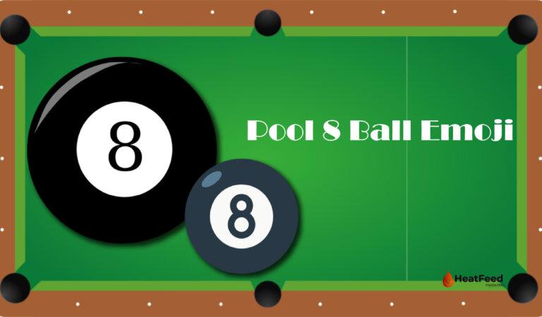 🎱 Pool 8 Ball Emoji